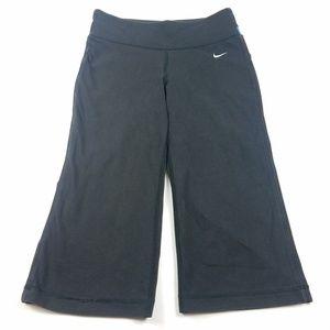 Nike Dri Fit Yoga Pants Capri Cropped Athletic